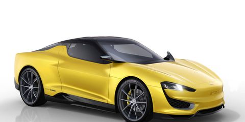 The Magna Steyr MILA Plus concept is a hybrid sports car that the auto parts manufacturer plans to produce.
