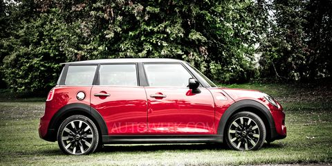Our rendering of the Clubman shows the longer rear doors and the unique D-pillar architecture that will try to distinguish the car from the 4 Door Hardtop.