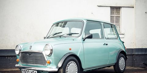 This limited-edition Mini has a four-speed auto and disc brakes up front, in addition to newer switchgear.