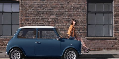 David Brown Automotive has announced the Mini Remastered, a ground-up re-imagining of the British classic. Each car will benefit from extensive custom bodywork, a hand-crafted interior and modern touches like navigation -- 1,400 man-hours of labor in all.
