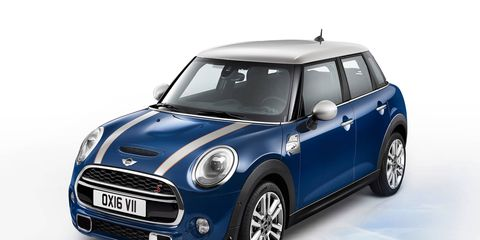 The Mini Seven pack will be offered for two-door and four-door Mini Cooper hardtops.