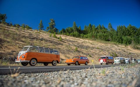 "Treffen is the German word for ""meet,"" and for the last 18 years a company specializing in parts for air-cooled Volkswagens has held a Treffen that runs from Canada to Mexico for any and all air-cooled VWs that want to join in. ""For 10 miles or 10 days,"" they say."