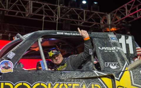 After 30 years of racing, including winning the last three Baja 1000s, Rob MacCachren finally won the Mint 400. It was as close as he'll get to a home course win for the Las Vegas-born driver, who has had class wins in The Mint but never an overall.