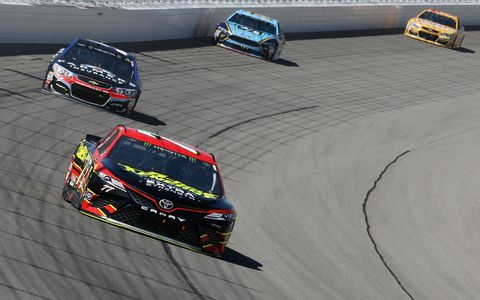Sights from the Monster Energy NASCAR Cup series Firekeepers 400 at Michigan International Speedway, Sunday, June 18, 2017.