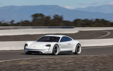 The Porsche Mission E electric line will land by the end of the decade.