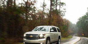 2016 Chevrolet Suburban LTZ review