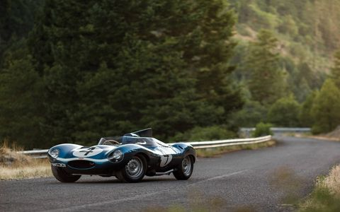Chassis number XKD 501 was the first D-Type production for a private team, sold to the Scottish racing team Ecurie Ecosse, and dispatched on 5 May 1955.