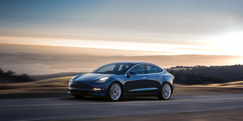 The exterior may not be as sexy as the Model S, but it sports a cd of just 0.23, Tesla claims.