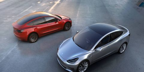 """The first Model 3 sedans are on the road, but Tesla says manufacturing """"bottlenecks"""" are hindering large-scale production."""