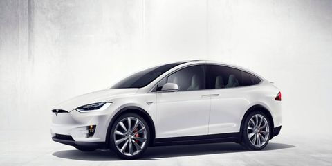 The Model X has been in production for just eight months; the first examples were delivered in September.