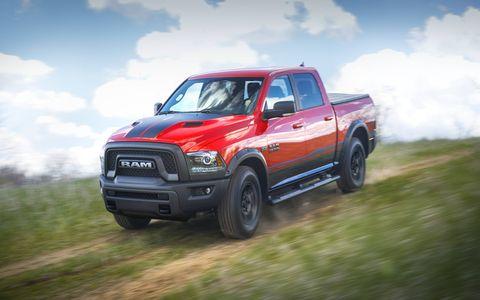 The Mopar custom shop built 500 special edition Ram Rebel pickups.