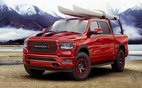 The 2019 Ram 1500 isn't at dealers yet, but it already has a full array of Mopar parts and accessories.