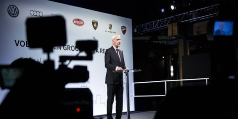 CEO Matthias Mueller took over in the days following the outbreak of the diesel crisis in September 2015, after Dr. Martin Winterkorn resigned.