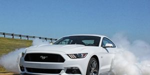 Kick the tires, light the fires, etc. etc., with the 2015 Ford Mustang GT's 435 hp.