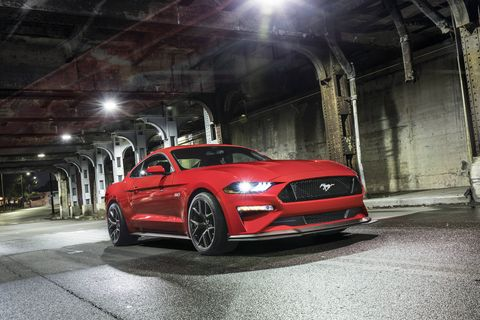 The 2018 Ford Mustang GT with Performance Pack 2 comes with new tires, wheels, stiffer springs and antiroll bars, a new splitter and more.