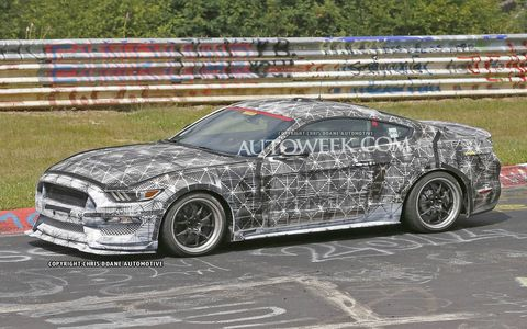 The 2016 Ford Mustang SVT might have a 5.2-liter V8 engine.