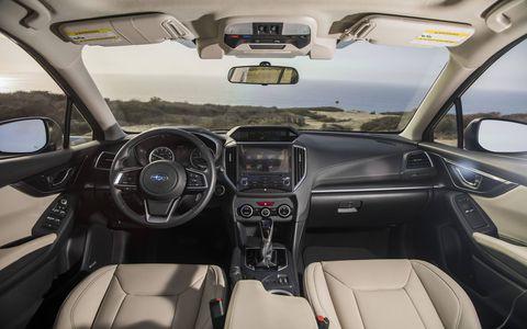 New multimedia features on the 2017 Subaru Impreza include standard Apple CarPlay, Android Auto and Near Field Communication connectivity. A Harman/Kardon premium audio system is optional.