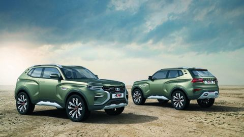 Lada unveiled the 4x4 Vision concept at the 2018 Moscow international motor show in August, indicating a possible design direction for a new compact SUV.