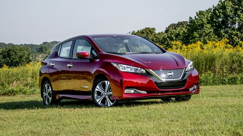 The redesigned Leaf is sleeker on the outside, but retains the exterior of a very large hatch.