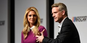 New NASCAR president Steve Phelps hosted a media roundtable on Wednesday in Charlotte, North Carolina.