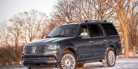 The Navigator has been redesigned inside and out for the 2015 model year.