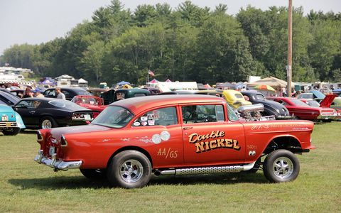 Third annual New England Hot Rod Reunion