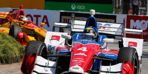 Conor Daly is in his second full season on the Verizon IndyCar Series circuit.