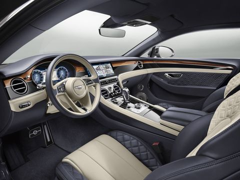 Over 10 square meters of wood are used in each Continental GT.