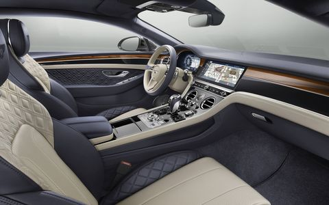 Inside the all-new 2019 Bentley Continental GT luxury coupe.