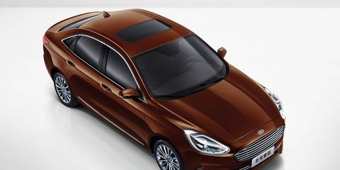 The new Ford Escort debuted at the Beijing motor show, and it won't be coming to the U.S. market.