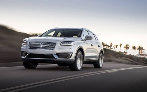 """The Lincoln MKX is now the Lincoln Nautilus -- part of the luxury automaker's effort to replace its confusing """"MK-"""" nomenclature system with real model names. Along with the new name, the crossover has adopted the company's signature grille. The 2019 Nautilus made its debut at the 2017 Los Angeles Auto Show."""