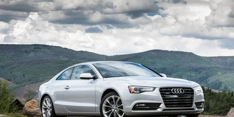 2015 Audi A5 Premium Plus Coupe delivers a full range of driving experiences from efficient refinement to dynamic power.