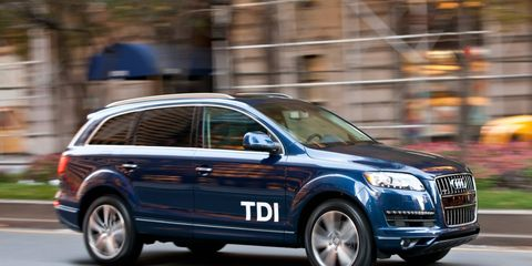 Diesel versions of the Q7 were among those grounded after the EPA issued a notice of violation in November.
