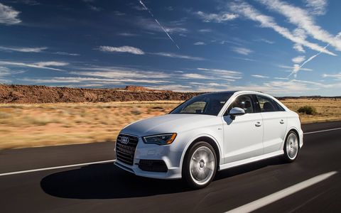 The Audi A3 TDI sedan offers consumers the fuel efficiency of the iconic TDI clean diesel powertrain and the sporty character of the A3 family.