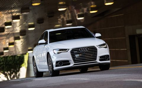 The new front end gives the A6 a more dynamic stance and presence on the road.