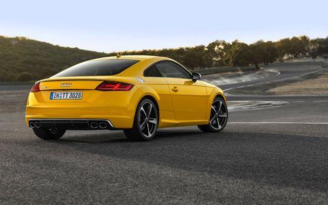 2016 Audi TTS Coupe 2.0T quattro S tronic