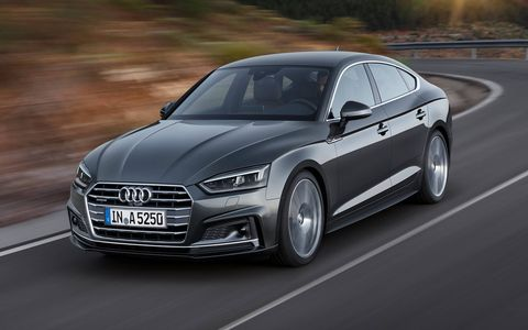 The A5 and S5 Sportbacks will land in the spring of 2017, offering twice the cargo room of their Coupe siblings.