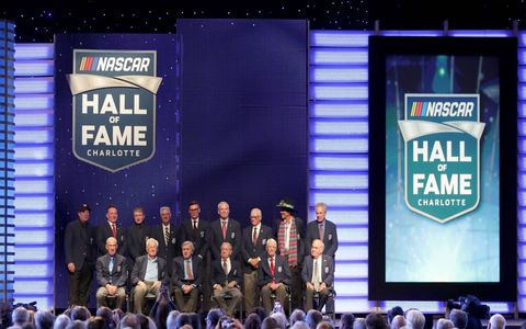 Photos from the induction of the 2018 NASCAR Hall of Fame class at the NASCAR Hall of Fame, Friday January 19, 2018.