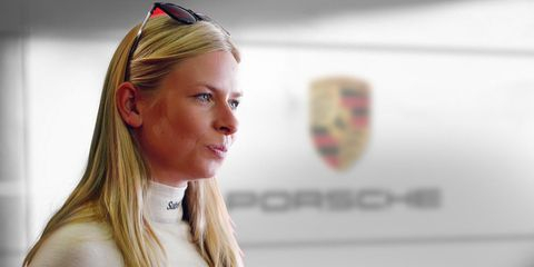 Christina Nielsen is slated to drive the No. 80 Porsche 911 RSR at Le Mans.