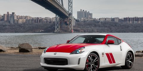 The 2020 Nissan 370Z 50th Anniversary Edition was inspired by the BRE 240Z race car.