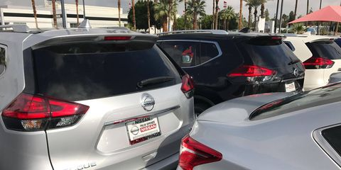 A glut of unsold vehicles continues to snowball, to buyers' advantage.