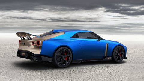 Nissan will build 50 copies of the Italdesign-styled GT-R50 concept, pretty much as it appeared at Goodwood.