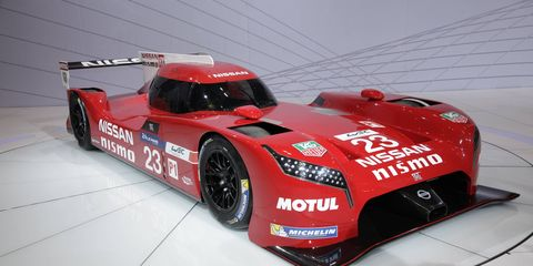 The Nissan GT-R LM NISMO was unveiled on Super Bowl Sunday.