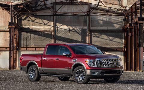 Nissan's half-ton Titan debuts at the Chicago Auto Show.