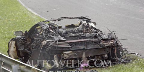 Scrap, Crash, Automotive engine part, Pollution,