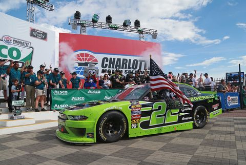 Sights from the NASCAR action at Charlotte Motor Speedway, Saturday May 26, 2018.