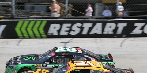 Sights from the NASCAR action at Bristol Motor Speedway Saturday, April 14, 2018.