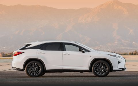 The 2016 Lexus RX has made its debut at the 2015 New York auto show. The SUV -- a massive seller for the Japanese luxury automaker -- gets a 300 hp V6 in RX 350 guise and a hybrid powertrain in the RX 450h configuration.