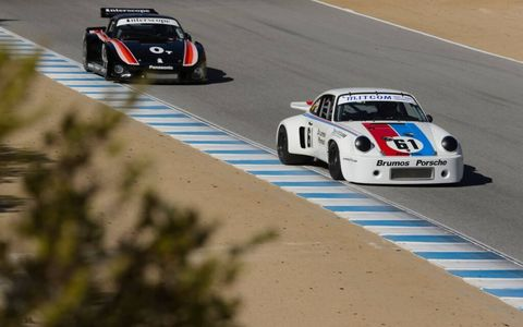 The 911 is the most popular Porsche ever, and there were plenty to see on the track at Rennsport Reunion V.