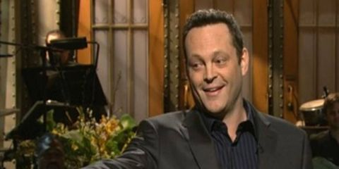 """Vince Vaughn is promoting the upcoming move, """"Unfinished Business."""""""